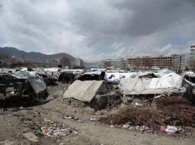Flüchtlingscamp Kabul 2012