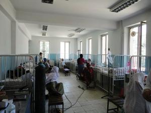 Krankenhausbetten des Klinikums in Kabul Spenden des Detmolder Klinikums