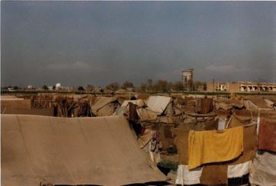 Flüchtlingscamp in Peshawar 1984