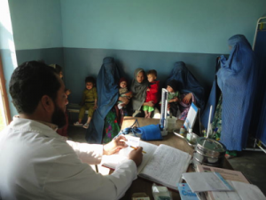 Poliklinik in Chewa Afghanistan
