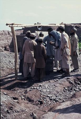 Brunnenbau zur Förderung der Infrastruktur