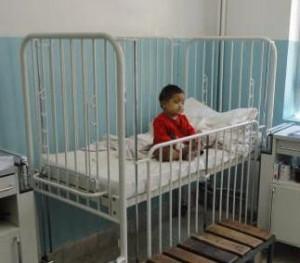 Kind in Bett