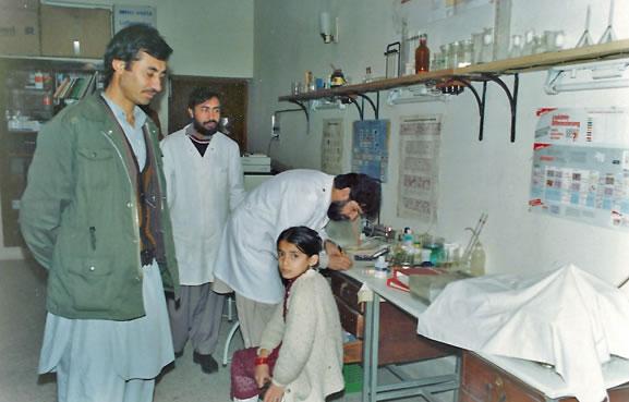1985 wurde in Peshawar ein diagnostisches Zentrum mit Poliklinik eröffnet.